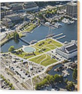 Lake Union Park And Museum Of History Wood Print