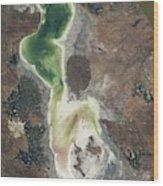 Lake Urmia Wood Print