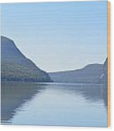Lake Willoughby From North Shore Wood Print