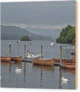 Lake Windermere Wood Print