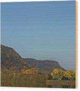 Lake Winona Autumn 6 Wood Print