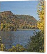 Lake Winona Autumn 9 Wood Print