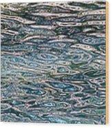 Lake Wylie Reflection Wood Print