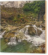 Lakeland Stream Wood Print