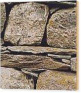 Lakeland Stone Wood Print