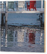 Lakeside Living Number 2 Wood Print