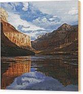 Lakeview Wood Print