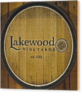 Lakewood Vineyards Wood Print