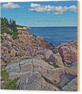 Lakies Head In Cape Breton Highlands Np-ns Wood Print