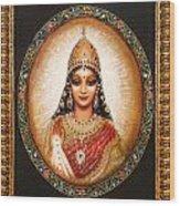 Lakshmi Goddess Of Abundance Wood Print