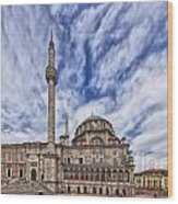 Laleli Tulip Mosque In Istanbul Wood Print