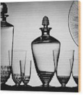 Lalique Glassware Wood Print