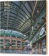 Lambeau Atrium Wood Print
