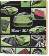 Lambo - Murci-me - Poster Wood Print