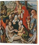 Lamentation For Christ Wood Print