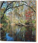 Lamington River At Tewksbury  Wood Print