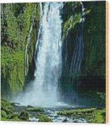 Lamolo Falls Wood Print