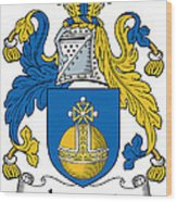 Lamont Coat Of Arms Irish Wood Print