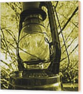 Lamp No.8 Wood Print