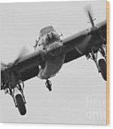 Lancaster Bomber Wood Print