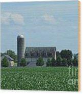 Lancaster Co Farm   # Wood Print