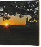 Lancaster County Morning Wood Print