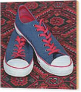Lance's Shoes Wood Print