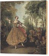 Lancret, Nicolas 1690-1743. Mlle Wood Print