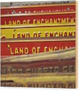 Land Of Enchantment Wood Print