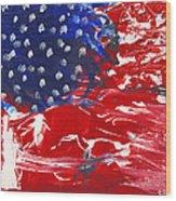 Land Of Liberty Wood Print