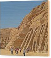 Land Of The Pharaohs Wood Print