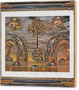 Land Of World 8624042 Framed Wood Print