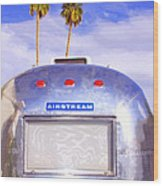 Land Yacht Palm Springs Wood Print