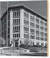Landmark Life Savers Building II Wood Print