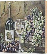 Landry Vineyards Wood Print by Kimberly Blaylock