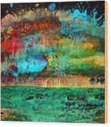 Landscape 120717-2 Wood Print