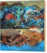 Landscape 121001-2 Wood Print