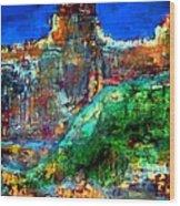 Landscape 121001-5 Wood Print