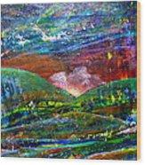 Landscape 130408-5 Wood Print