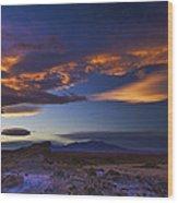 Landscape 424 Wood Print