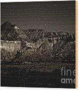 Landscape A10c Nm Co Wood Print