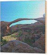 Landscape Arch 2 Wood Print