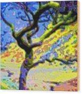 Landscape Art Tree Life Wood Print