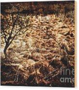 Landscape Of Life Wood Print