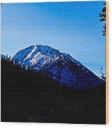 Landscape Oregon Wood Print