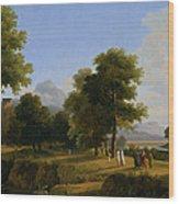 Landscape. Site Of Greece Wood Print