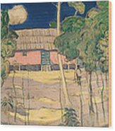 Landscape Trinidad Wood Print