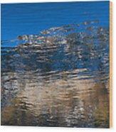 Landscape Water Wood Print
