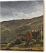 Landscape With A Castle On A Hill And A Wood Print
