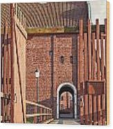 Landskrona Citadel In Sweden Wood Print